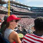 Young Alumni at Nationals Baseball game
